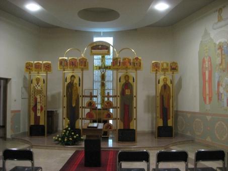 Каплиця Св.Апостола Андрія в Санктуарії Божого Милосердя в Кракові (Польща)